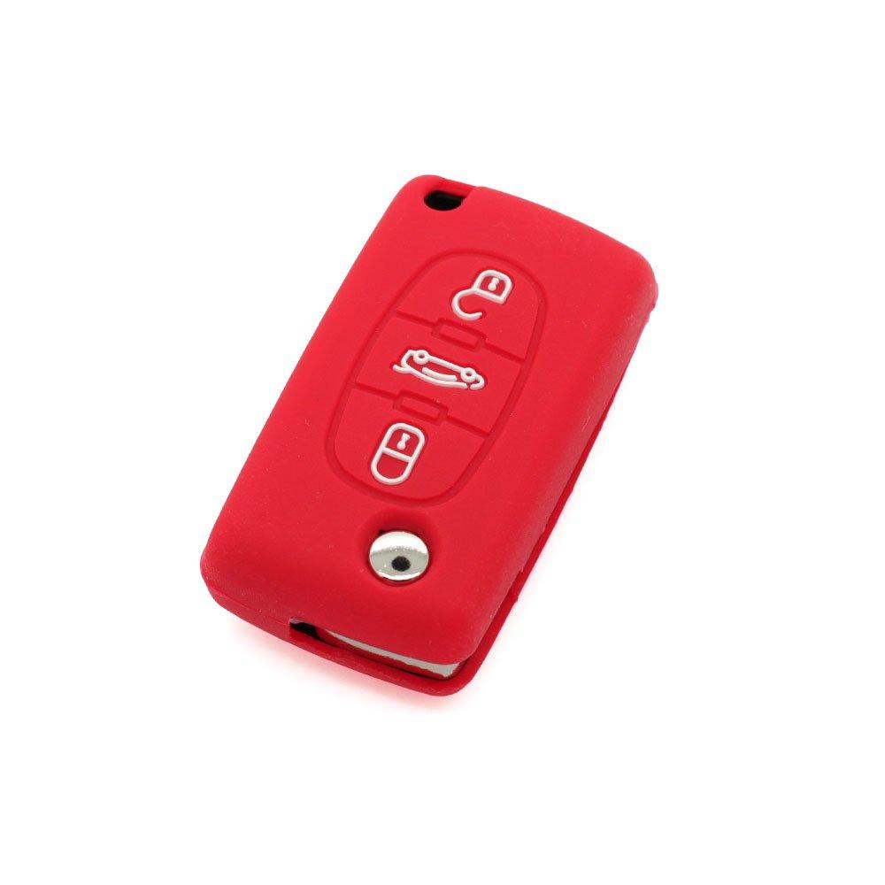 de la marca Fassport Funda para llave de 3 botones de Peugeot
