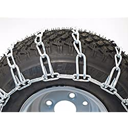 The ROP Shop 23x8.50-12 TIRE Chains 2 Link John De