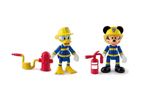 Mickey Mouse Club House - Mickey and Donald Emergency Figures (Pack of 2)