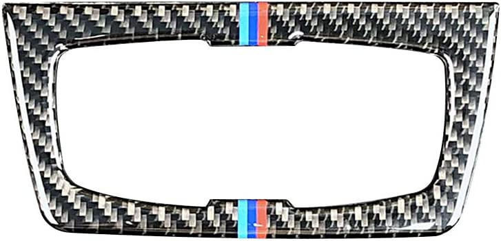 2012-2020 Carbon Fiber Headlight Switch Buttons Decorative Frame Cover Trim Dashboard Interior Molding Sticker for BMW F30 F31 F32 F33 F34