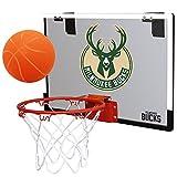 NBA Milwaukee Bucks Game On Indoor Basketball