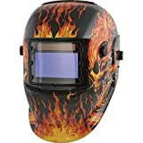 TITAN Vaper 41266 Solar Powered Auto Dark Welding Helmet