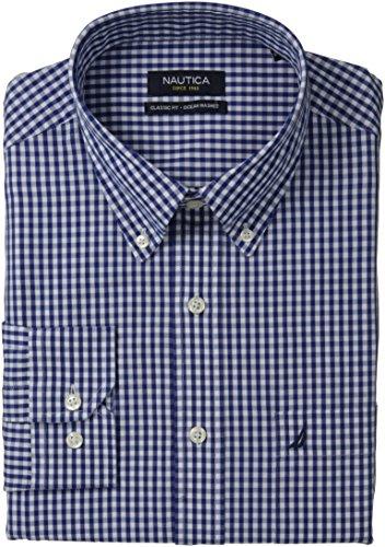 nautica-mens-gingham-button-down-collar-dress-shirt-blue-17-neck-34-35-sleeve