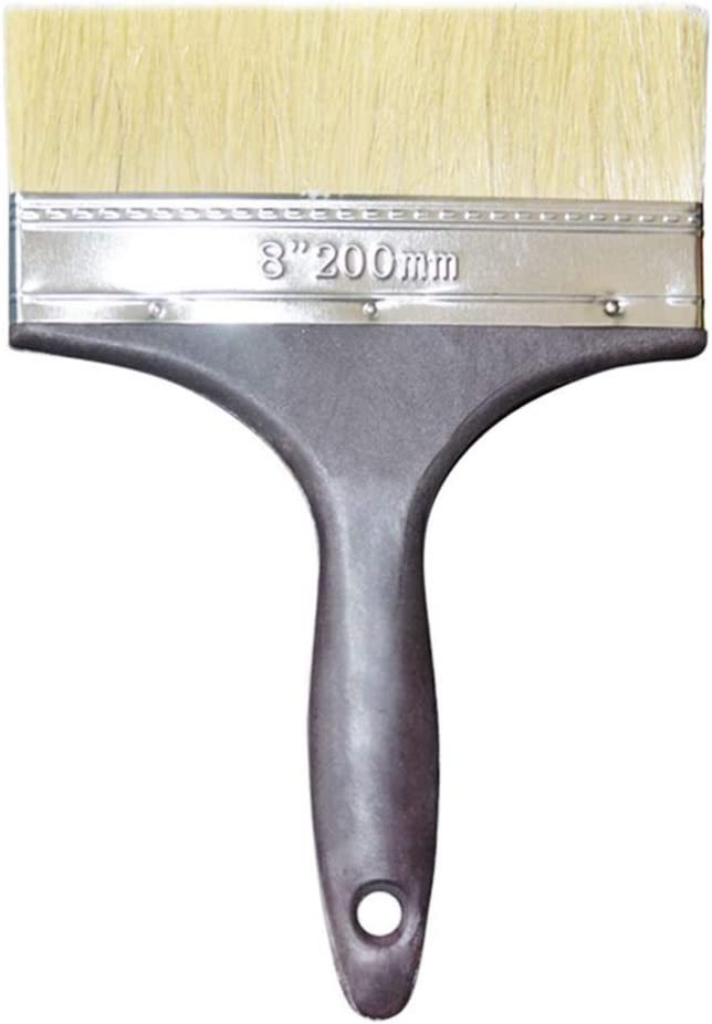 KESYOO 2 Piezas Pinceles Pinceles de Plástico Cepillo de Hollín Cepillo de Pelo Largo Accesorios de Pintura Herramientas Prácticas para Pintura de Paredes Y Muebles