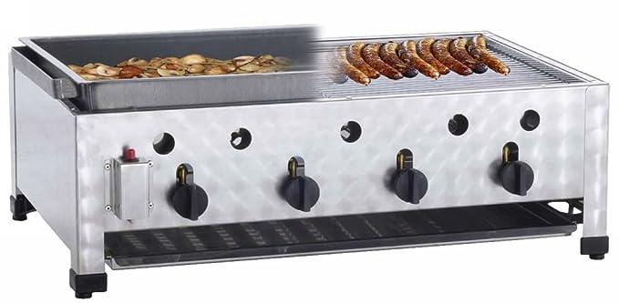 Neumärker 00 - 50483 - Gas de nevera mesa bräter - 4 grabadora ...