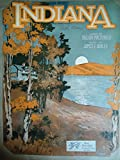 img - for Indiana [Back Home Again in Indiana] Sheet Music. book / textbook / text book