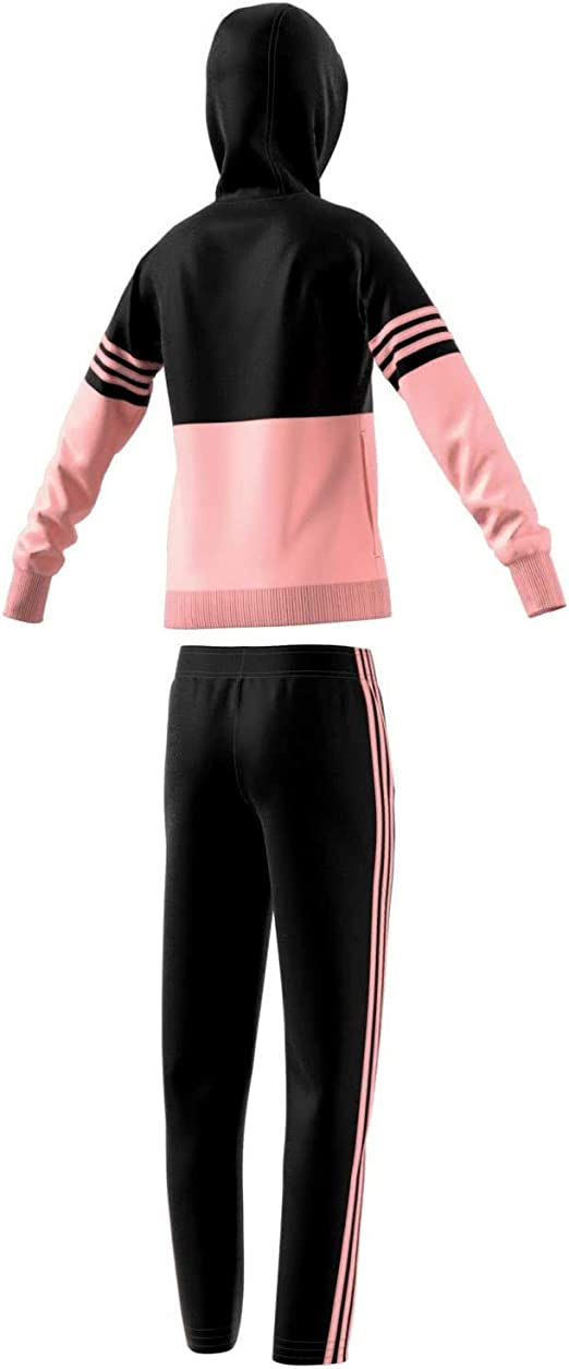 adidas Yg Hood PES TS-Black/Hazcor - Chándal para niña: Amazon.es ...
