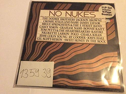 Various - No Nukes - From The Muse Concerts For A Non-Nuclear Future - Madison Square Garden - September 19-23, 1979 - Asylum Records - AS 62 ()