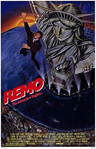 Remo Williams: The Adventure Begins Poster Movie 11x17 Fred Ward Joel Grey Wilford Brimley