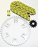 #5: Honda CRF230F 230 F Yellow Chain and Sprocket 13/52 114L