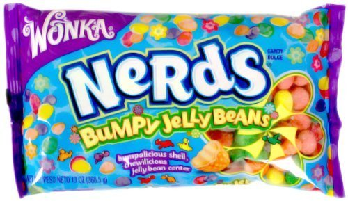 Nerds Easter Bumpy Jelly Beans 13oz. By Wonka(pack of 3 -