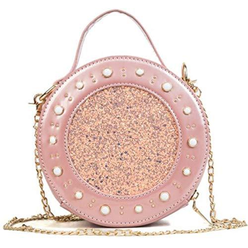 Pu Pink Señora Yy3 Pink 2 Mano De Vías Bolso Bandolera color Jessiekervin Circular 67044