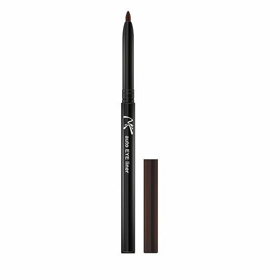 Nicka K Auto Eye Liner, Dark Brown, 0.3g Eyeliners at amazon