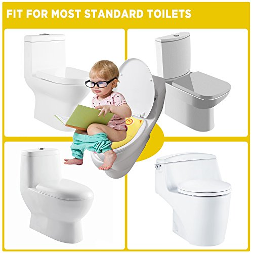 Astonishing Gimars Upgrade Folding Large Non Slip Silicone Pads Travel Portable Reusable Toilet Potty Training Seat Covers Liners With Carry Bag For Babies Creativecarmelina Interior Chair Design Creativecarmelinacom
