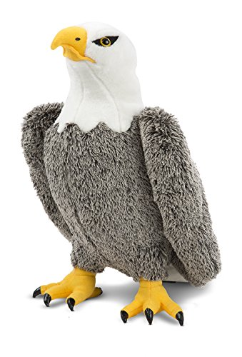 - Melissa & Doug Bald Eagle - Lifelike Stuffed Animal (17 inches tall)