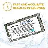 Easy Chlorine Test Strips - Results In Seconds