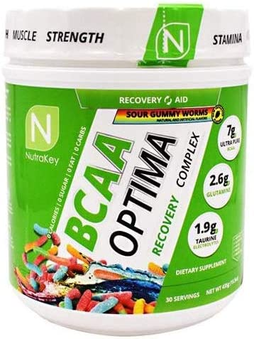 Nutrakey BCAA Optima, Sour Gummy Worms
