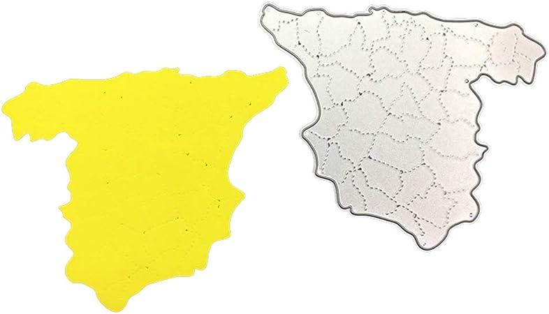 hefeibiaoduanjia - Troqueles de Corte de Metal, diseño de Mapa de ...