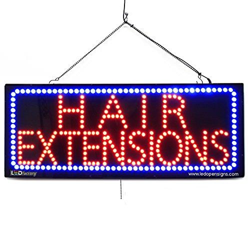 Large LED Window Open Sign -