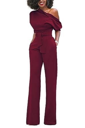 more photos 1c127 63102 emmarcon tuta elegante pantaloni lungo jumpsuit vestito ...