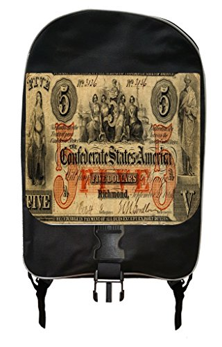 Vintage Confederate States of American 5 Dollar Bill Backpack