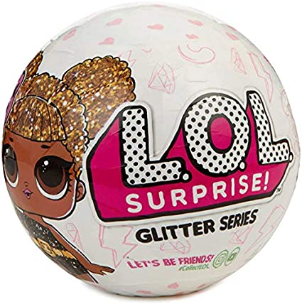 LOL Surprise - Serie Glitter Muñeca Coleccionable, 7 Sorpresas (Giochi Preziosi LLU19000) modelo surtido