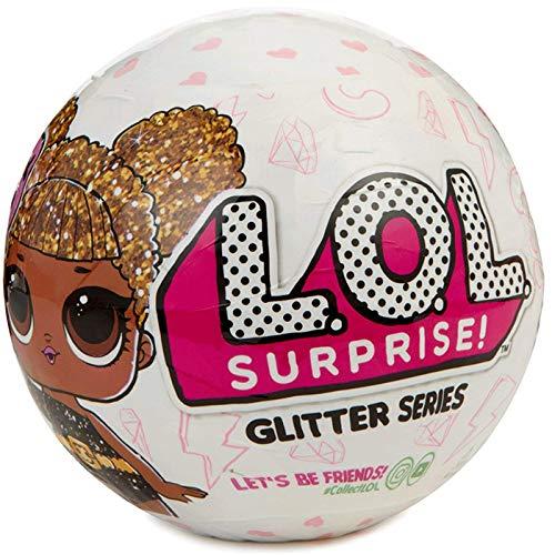 LOL Surprise – Serie Glitter Muñeca Coleccionable, 7 Sorpresas (Giochi Preziosi LLU19000) modelo surtido