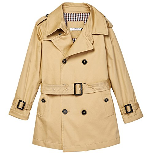 Brown Belted Trench - 5