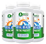 3X Ben's Total Health for the Prostate Supplement | Clinical Strength | Helps to Reduce Frequent Urination & Prostate Inflammation | Best Choice for Mens Prostate Health | Natural Urinary Support