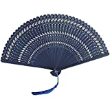 Chinoiserie Classical Bamboo Fan Hand Fan Beautiful Folding Fan Handheld Fan #15