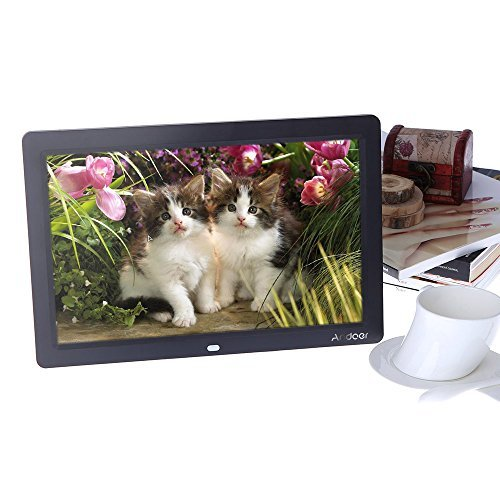 Andoer Digital Photo Picture Frame 12 inch HD TFT-LCD 1280 x 800 Full-view Picture Screen -