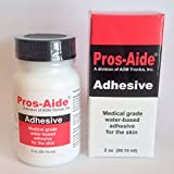 "Pros-Aide ""The Original"" Adhesive 2 oz. By ADM Tronics - Professional Medical Grade Adhesive. Dries Clear."