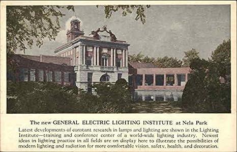 general electric lighting institute at nela park cleveland ohio