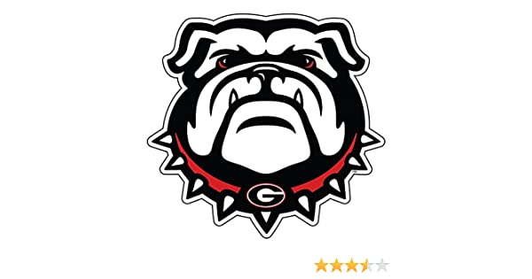 Craftique UGA Georgia Bulldogs 12 Dawg Decal