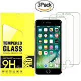 #7: iPhone 8, 7, 6S, 6 Screen Protector Glass,OLINKIT Tempered Glass Screen Protector for Apple iPhone 8, 7, iPhone 6S, iPhone 6 [4.7