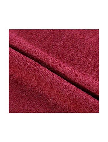 Uxcell Rettangolo Caldo Forma 2 Sciarpa Bordeaux A Inverno Lunga Unisex Maglia rrqZdE