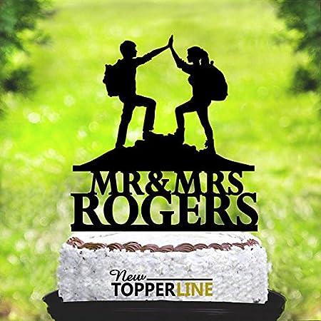 Decoración personalizada para tartas, diseño de escaladores ...
