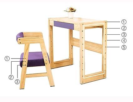 Porta oggetti scaffali hwf tavolo e sedia combinazione per bambini