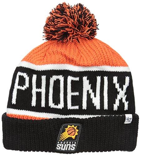 fan products of NBA Phoenix Suns Calgary Cuff Knit Hat, One Size, Orange