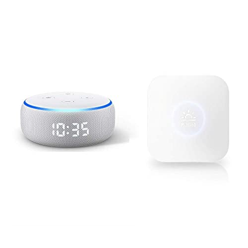 Echo Dot 第3世代 時計付き + Nature Remo mini