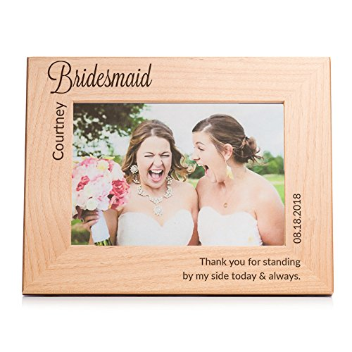 Lifetime Creations Personalized Bridesmaid Picture Frame (5