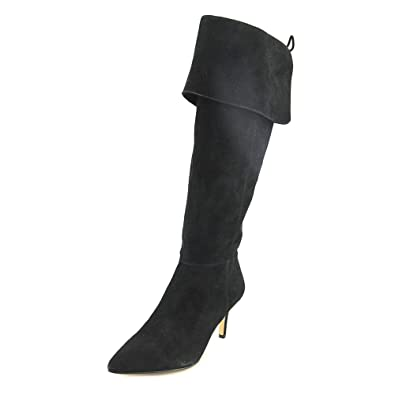 578d8e80ea9 Lord   Taylor Devina Women US 8 Black Knee High Boot  Amazon.co.uk ...