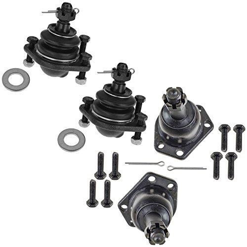 Ball Joint Kit Upper Lower LH RH Kit Set of 4 for S10 S15 Blazer Jimmy 4WD Truck