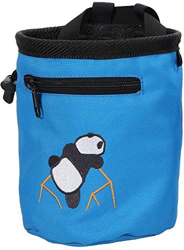 AMC(TM Climbing Panda Compact Chalk Bag with Belt, 7184_Dark Blue