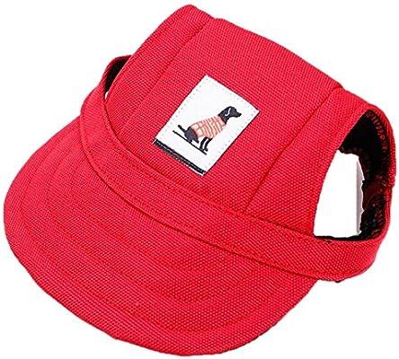 Sannysis accesorios para perros, sombrero de visera de béisbol ...