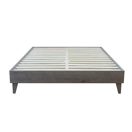 Nice ELuxurySupply Wood Platform Bed Frame | Solid Hardwood   100% Handmade By  Amish Craftsmen |