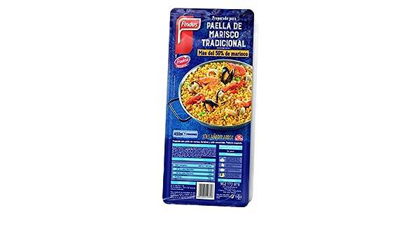 Findus Preparado Paella Marisco - 400 gr: Amazon.es: Alimentación y bebidas