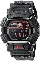 Casio Men's Quartz Resin Watch, Color:Black (Model: GD-400-1CR)