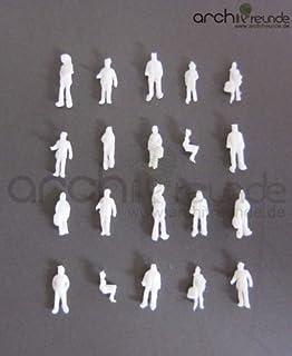 Typ B 100 x Modell Stehende Figuren-Menschen Handbemalt 1:100 Spur TT