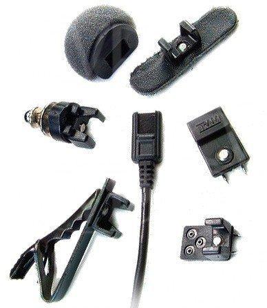 Tram TR50 - Omnidirectional Lavalier Condenser Microphone (Black)